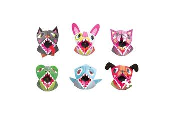 Peinture et dessin JANOD Coffret créatif Origami Marionnettes animaux