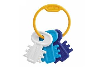 Les premières clés de Chicco, légères et faciles à saisir. Ce hochet de dentition clés développe ses