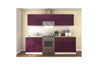 Tout le choix darty en ensemble cuisine de marque swithome for Cuisine complete violet
