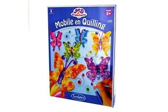 Peinture et dessin SENTOSPHERE Art & créations : mobile en quilling : papillons