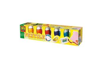 Peinture et dessin SES CREATIVE Peinture textile moderne 6 pots de 50 ml : Tendance