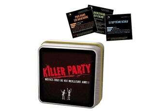 Jeux en famille ASMODEE Killer party : Jeu de poche