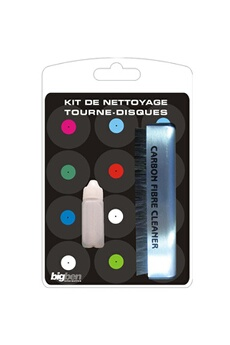 Kit de nettoyage pour Tourne Disques KITTD