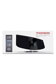 THOMSON MIC192U Lecteur vertical CD/MP3 - Bluetooth - 2 x 15 Watts RMS - Direct USB - Affichage LCD