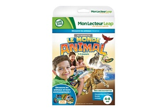 Jeux ludo éducatifs Leapfrog Jeu pour console LeapPad Mon Lecteur Leap : Le monde animal