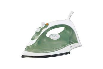 CLATRONIC Fer à repasser - Clatronic - Db 3105 Cb Blanc Et Vert 2000w Débit Vapeur Jusqu?à 40g/mn