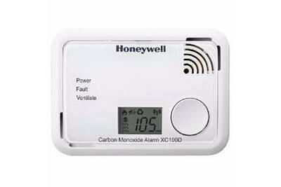 alarme maison honeywell d tecteur de monoxyde de carbone honeywell avec affichage lcd. Black Bedroom Furniture Sets. Home Design Ideas