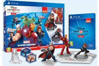 Figurines personnages Walt Disney Pack De Démarrage Avengers Ps4