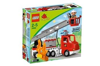 Monde imaginaire Lego Duplo Legoville Le Camion De Pompiers Duplo