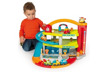 Jouets premier âge SMOBY Garage Vroom Planet : Grand garage
