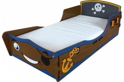 lit enfant kidsaw lit pirate en bois 70 x 140 cm - Lit Pirate