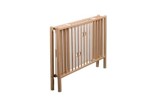 lit b b combelle lit b b 120 x 60 pliable taupe gain de place sommier multi. Black Bedroom Furniture Sets. Home Design Ideas