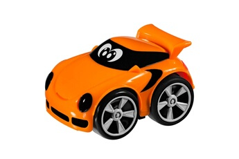 Jouets premier âge Chicco Voiture à friction : turbo touch stunt : richie (orange)