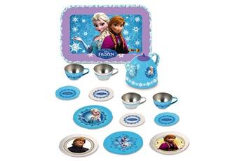 Jeux d'imitation SMOBY Dînette en métal la reine des neiges (frozen)