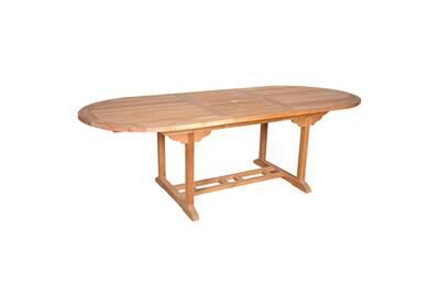 Table de jardin Bois Dessus Bois Dessous Table de jardin en bois de ...