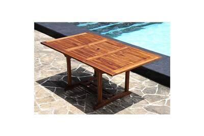 Table de jardin Bois Dessus Bois Dessous Table de jardin ...
