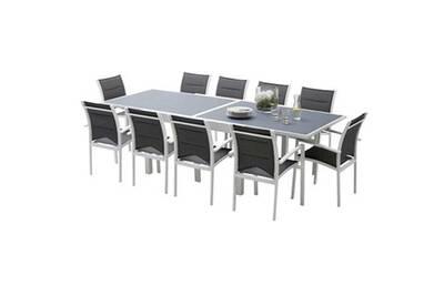 Ensemble table et chaise de jardin Wilsa Ensemble table et chaises ...