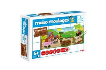 Pâte à modeler et bougie Mako Creations Moulage en plâtre mako moulages : bienvenue à la ferme !