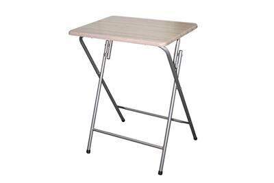 Table Atmosphera Table D Appoint Pliante Grey Darty