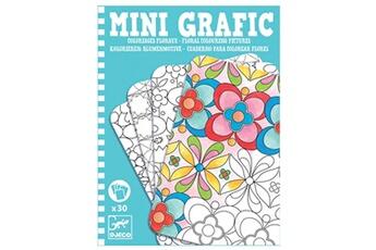 Peinture et dessin Djeco Mini Grafic : Coloriages floraux