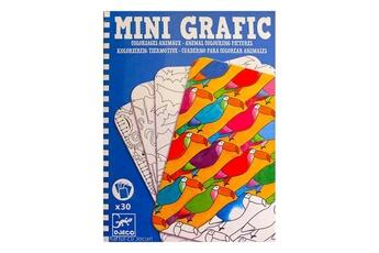 Peinture et dessin Djeco Mini Grafic : Coloriages animaux