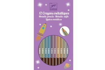 Peinture et dessin Djeco 8 crayons métalliques