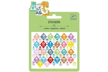 Peinture et dessin Djeco Mini stickers : Lettrs saloon