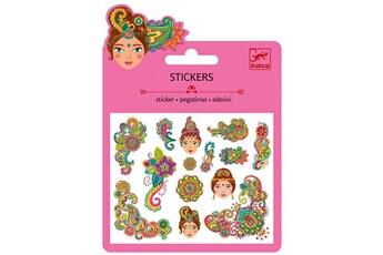 Peinture et dessin Djeco Mini stickers : Motifs indiens