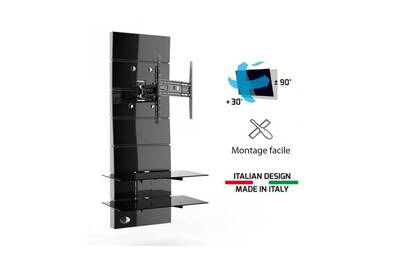 Meuble Tv Meliconi Ghost Design 3000r Noir Meuble Tv Support