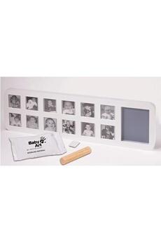 Empreinte bébé Baby To Love Cadre Photo Empreintes Modern First Year Print Frame blanc