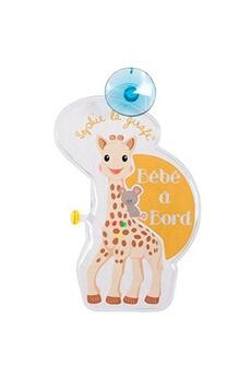 Accessoires pour la voiture Vulli Signalétique Flash bébé à bord Sophie la Girafe