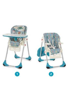 Chaise Haute Chicco Chaise Haute Bebe Polly 2 En 1 Sea Dreams Darty