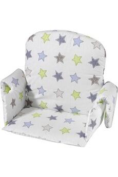 Chaise haute Geuther Coussin de chaise avec rabat tissu Etoile