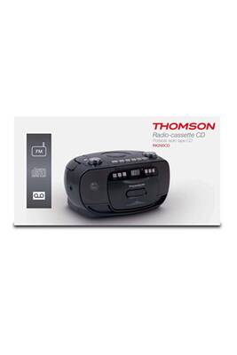interface audio thomson lecteur radio cd portable mp3 usb. Black Bedroom Furniture Sets. Home Design Ideas