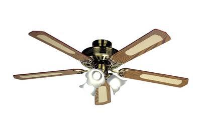 ventilateur farelek ventilateur de plafond baleares 132 cm 5 pales noyer cann es noyer darty. Black Bedroom Furniture Sets. Home Design Ideas