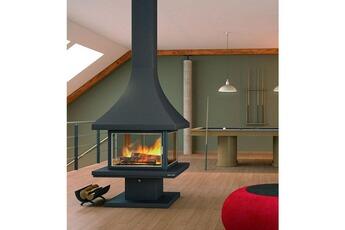 Tout le choix darty en po le bois granul s de marque focgrup darty - Encadrement cheminee bois ...