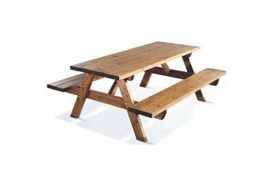 Table pique-nique en bois GARDEN 200B