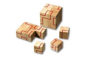 Jeux ludo éducatifs Gigamic Casse-tête en bois - La ligne infinie