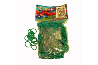 Jeux ludo éducatifs Rainbow Loom Rainbow Loom : Recharge élastiques : Bleu vert