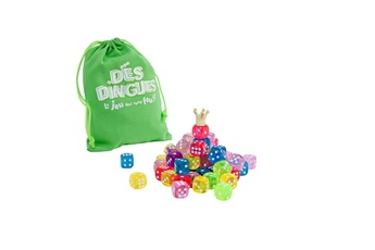 Jeux en famille Wdk Jeu Dés Dingues : 64 dés