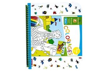 Peinture et dessin AU SYCOMORE Cahier de coloriages : princes