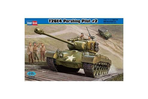 Maquette Char: T26E4 Pershing  Pilote 2