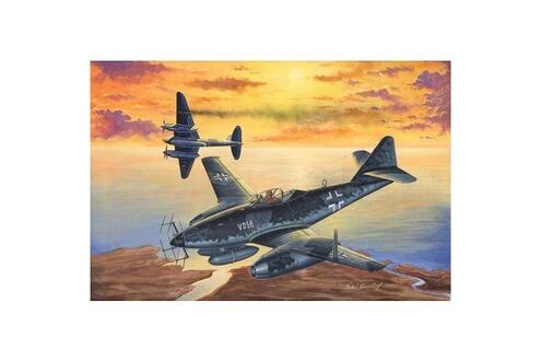 Maquette avion: Messerschmitt Me 262 A-1a/U2(V056)