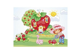 Puzzles Nathan Puzzle 45 pièces - Charlotte aux fraises : La maison de Charlotte