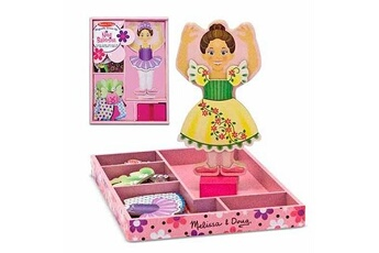 Jeux ludo éducatifs Melissa And Doug Magnets Garde robe : Ballerine