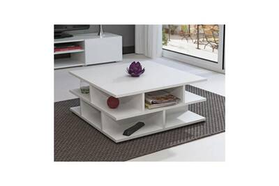 Mad Table Basse Multicases Blanc