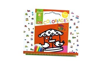 Peinture et dessin AU SYCOMORE Cahier de coloriages : ville