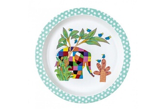 Vaisselle bébé Petit Jour Paris Assiette plate Elmer