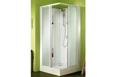 paroi et porte de douche leda cabine de douche carr e. Black Bedroom Furniture Sets. Home Design Ideas