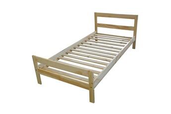 Tout le choix darty en lit de marque meubles en pin pas cher darty - Lit une place pas cher ...